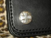 SILVER CROSS BUTTON